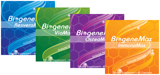 Biogenemax Anti-aging System Packaging Design
