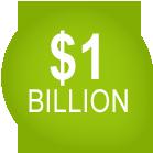 $1 billion