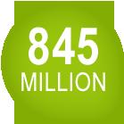 845 million
