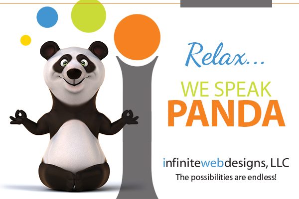 Infinite Web Designs helps with Google Panda 4.0 Fairfield County, CT